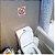 Placa Proibido Mergulhar No Vaso Sanitário - 15 X 20 Cm - Imagem 2