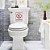 Placa Proibido Mergulhar No Vaso Sanitário - 15 X 20 Cm - Imagem 3