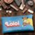 Almofada Retrô Chocolate Lolol - Imagem 2