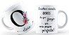 Caneca Floral Alfabeto Letra O - Imagem 1