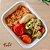 Comida Congelada – Frango Desfiado com Legumes – 350g – FoodLev - Imagem 1
