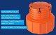 Sump de tanque C/ kit de fixação  - Imagem 1