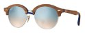 Ray Ban Clubround Wood RB4246M 12179U - Imagem 1