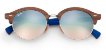 Ray Ban Clubround Wood RB4246M 12179U - Imagem 2
