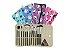 Kit pinceis Macrilan Maquiagem + Nécessaire *Consultar Cores Disponíveis* - Imagem 2