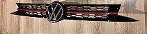 Grade Colmeia TSI Logo VW 2021 Original VW Polo e Virtus Exclusividade Instacarsonline - Imagem 4