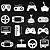 Adesivo - Controles Joysticks Video Games Gamer - Imagem 2