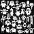 Adesivo - Cartela Halloween Monstros Monters Aliens - Imagem 2