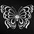Adesivo - Borboleta Butterfly - Imagem 2