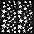 Adesivo - Cartela Stars Estrelas - Imagem 2