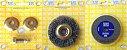 Rebolo, Escova Aço e Adaptador para Furadeiras (Vendidos Separadamente) - Imagem 1