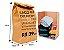 Saco Kraft Delivery  20x13x25 100 unidades  - Imagem 1