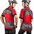 Camisa Ciclista Unissex Manga Curta Zíper Parcial Hanya - Imagem 2