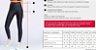 Calça Legging Live! Fuso Active Essential P3412 Azul P e M - Imagem 4