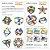 Quebra-cabeça  3D Triângulos e Varetas - 183 peças (7 anos+) - Imagem 4