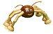 Aranha Tetéia de Madeira Com Imãs - Imagem 1