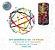 Barras Magnéticas - Kit Geodésica 170 Peças (5 anos+) - Imagem 1
