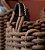 CESTO DE CORDA BROWN  GRANDE  - Imagem 2