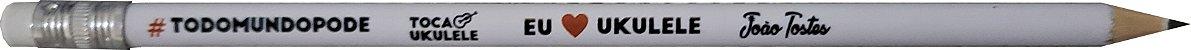 Lápis I ❤️ Uke #todomundopode (com borracha) - Imagem 2