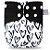 Corações - Elinfant - Pull - Pocket - Interior em Malha de Café - Imagem 1