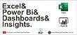 Caneca Excel, Power Bi, Dashboards & Insights - Imagem 2