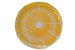 Prato Sobremesa Vidro Arda Citrus Amarelo 22 cm - Imagem 1