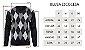 Blusa Suéter Tricot Masculino Escocês - Imagem 9