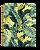 Caderno Univ 10m 160F Cadersil Tropical Leaves - Imagem 4