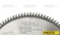 SERRA CIRC. P/ ALUMÍNIO/PVC Ø250X2,8X25,4 Z=100 TF (S878.2502810025) - Imagem 2