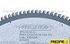SERRA CIRC. P/ ALUMÍNIO/PVC Ø300X3,2X30 Z=120 - INMES (B87830012030) - Imagem 2
