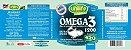Ômega 3 1200mg 120 caps  Óleo de Peixe - Unilife Vitamins - Imagem 2