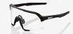 Óculos Ciclismo 100% S3 Cinza Fosco Soft Lente Fumê Original - Imagem 4