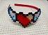 Tiara Coração Alado - Imagem 1