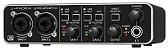 Interface de Áudio Behringer U-Phoria UMC202HD Midas USB - Imagem 4