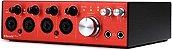 Interface de Áudio Focusrite Clarett 4Pre Thunderbolt 18x8 192khz - Imagem 3