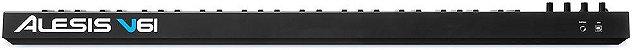 Teclado Controlador Alesis V61 USB 61 Teclas - Imagem 6