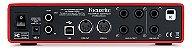 Interface de Áudio Focusrite Scarlett 6i6 USB 2nd Geração - Imagem 3
