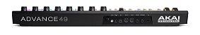 Teclado Controlador Akai Professional Advance 49 USB 49 Teclas - Imagem 3