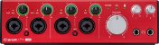 Interface de Áudio Focusrite Clarett 4Pre USB-C - Imagem 2