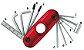 Kit de Regulagem Ibanez MTZ11 Multi-Ferramentas Vermelho - Imagem 1