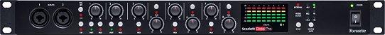 Pré Amplificador Focusrite Scarlett OctoPre ADAT 8 Canais - Imagem 4