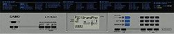 Teclado Arranjador Digital Casio CTK-1550 Preto 61 Teclas - Imagem 2
