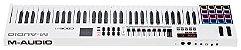 Teclado Controlador M-Audio CODE 61 USB/MIDI 61 Teclas Branco - Imagem 6