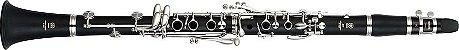 Clarinete Yamaha YCL255 Bb 17 Chaves com Case - Imagem 3