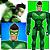 Boneco Articulado Pequeno Vigilante Verde  - Imagem 3
