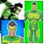 Boneco Articulado Grande Vigilante Verde C/ Máscara  - Imagem 3