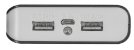 Powerbank Primo 2 Portas 8800 mAh Usb inclusos 2 Cabos Micro Usb 21227 - Trust - Imagem 4