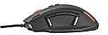 Mouse Gamer Caldor 4000Dpi Memória Interna 11 botões GXT 155 Rgb Black 20411 - Trust - Imagem 3