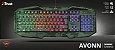 Teclado Gamer Avonn Led Camuflado GXT 830RWC - 23136 - Trust - Imagem 5