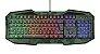 Teclado Gamer Avonn Led Camuflado GXT 830RWC - 23136 - Trust - Imagem 1